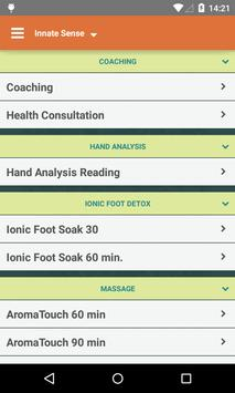 Innate Sense Wellness Solution screenshot 2