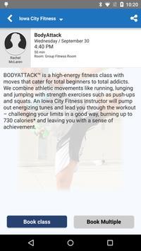 Iowa City Fitness App screenshot 3