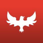 Iron bird personal training icon