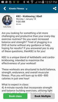 Kinetic Fitness apk screenshot
