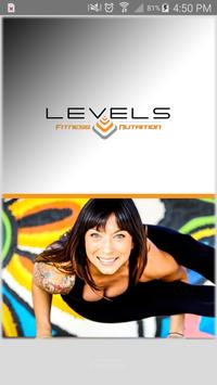 Levels Fitness and Nutrition poster