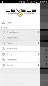 Levels Fitness and Nutrition apk screenshot