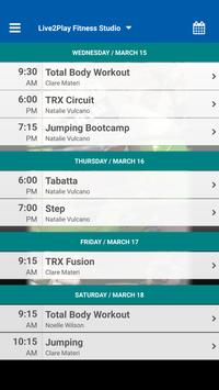 Live2Play Fitness Studio screenshot 2