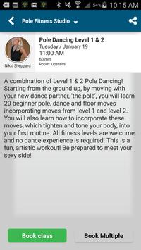 Pole Fitness Studio apk screenshot