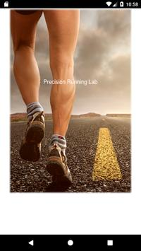 Precision Running Lab poster
