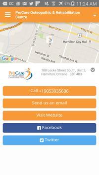 ProCare Osteopathic Centre apk screenshot