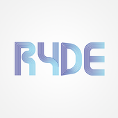 RYDE cycle icon