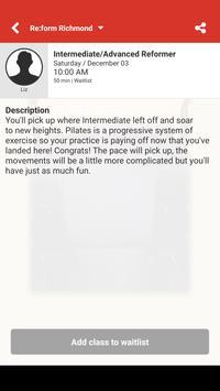 Re:form Richmond Pilates screenshot 3