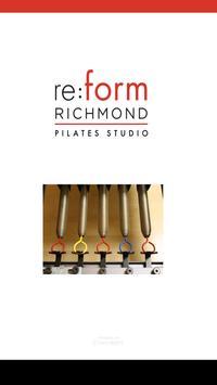 Re:form Richmond Pilates poster