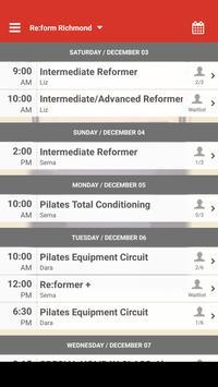Re:form Richmond Pilates screenshot 2