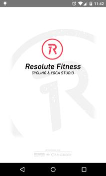Resolute Fitness poster
