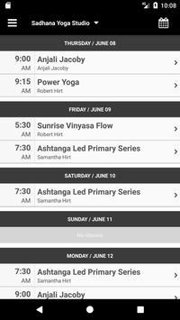 Sadhana Yoga Studio apk screenshot
