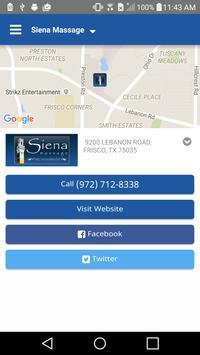 Siena Massage apk screenshot