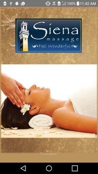 Siena Massage poster