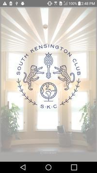 South Kensington Club poster