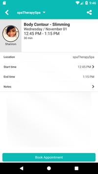 spaTherapySpa apk screenshot