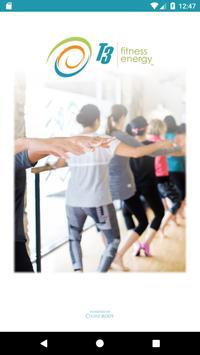 T3 Fitness Energy Studio poster