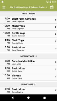 The Bodhi Seed Yoga screenshot 2