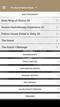 The Spa at Palmer House apk screenshot