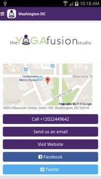 The Yoga Fusion Studio apk screenshot
