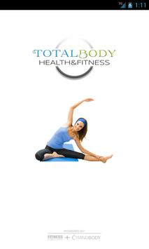 Total Body Health & Fitness poster