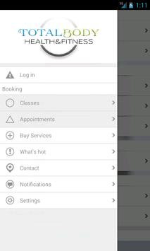 Total Body Health & Fitness apk screenshot