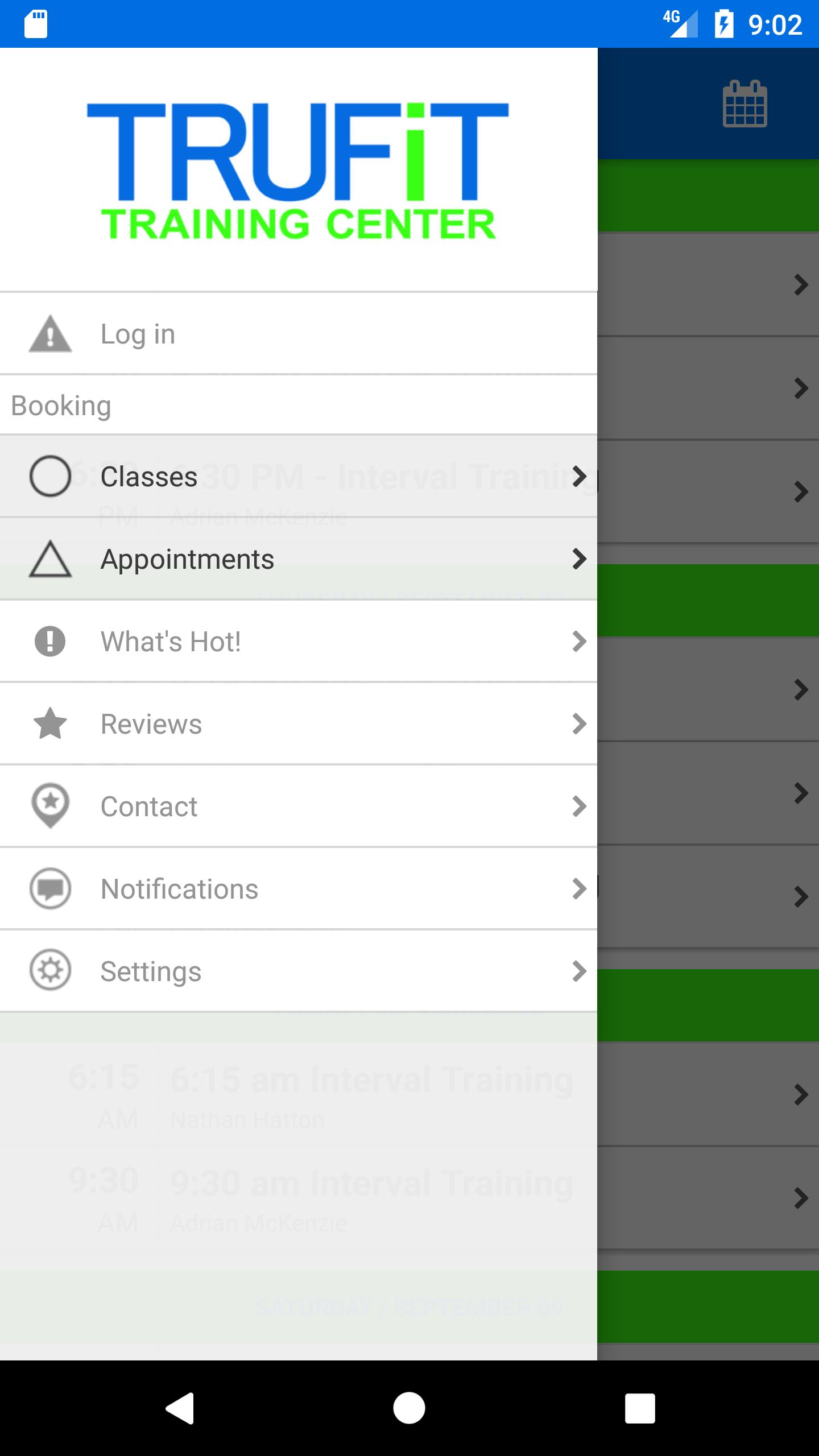 TRUFiT Training Center for Android - APK Download