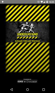 Underground Fitness poster