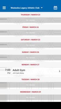 Westosha Legacy Athletic Club apk screenshot