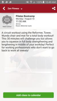 Zen Fitness apk screenshot