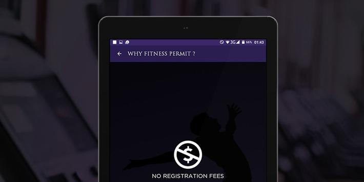 Fitness Permit screenshot 7
