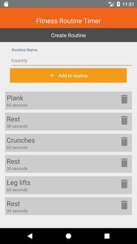 Fitness Routine Timer screenshot 5