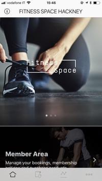 Fitness Space App screenshot 1