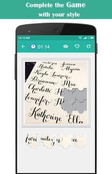 Calligraphy Name apk screenshot
