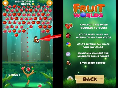 Bubble Fruits Deluxe screenshot 15