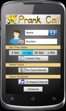 Prank Call and fake Call screenshot 1