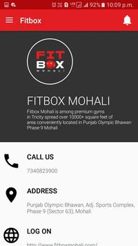 Fitbox Gym screenshot 1