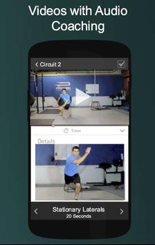 Circuit & Calisthenic Workouts apk screenshot