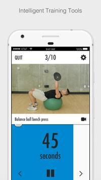 Balance Exercise Ball Strength Training apk screenshot