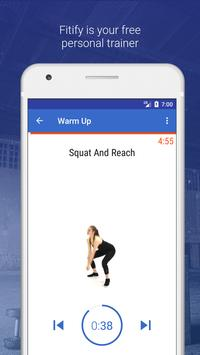 Warm Up & Cool Down by Fitify poster
