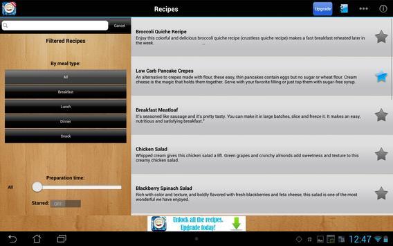 Low Carb Diet Free screenshot 4