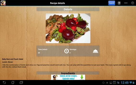 Paleo Diet Free screenshot 5