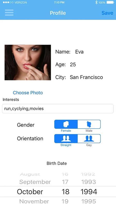 girl only dating app