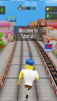 Subway Spongebob Run Advenger screenshot 5