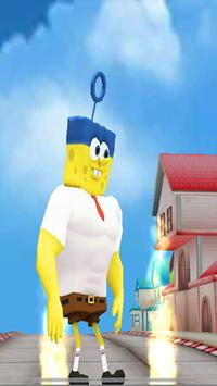 Subway Spongebob Run Advenger poster