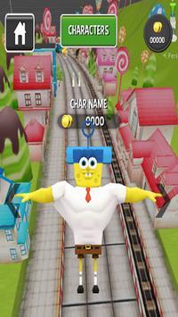 Subway Spongebob Run Advenger screenshot 1