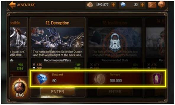 Cheats EvilBane Rise of Ravens apk screenshot