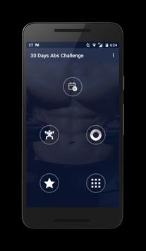30 Days Abs Challenge apk screenshot