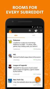 Carrot – Chatrooms on reddit screenshot 1