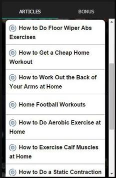 5x5 300 Home Workout Apk Screenshot